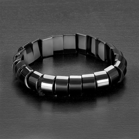 Natural Hematite Magnetic Stone Bracelet