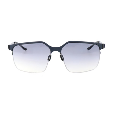 Men's M1037 Sunglasses // Dark Blue + Black