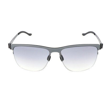 Men's M1038 Sunglasses // Gray + Black