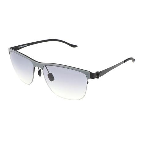 Men's M1038 Sunglasses // Gray + Black
