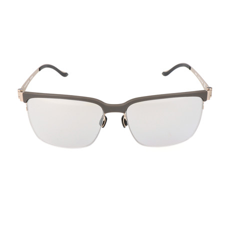 Luis Sunglass // Grey + Gold