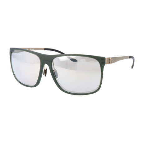 Men's Hannes Sunglasses // Army Green