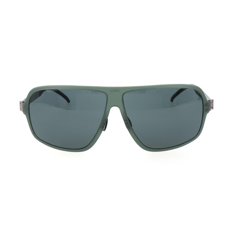Men's Semeon Sunglasses // Forest Green