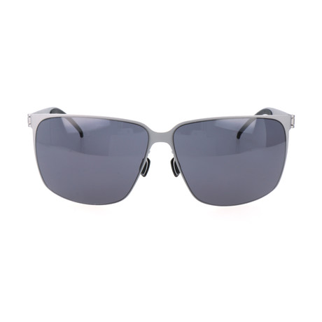 Men's M1043 Sunglasses // Silver + Gray