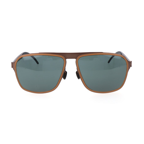 Davi Sunglasses // Rust