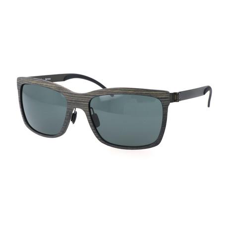 Men's M3019 Sunglasses // Sand + Green