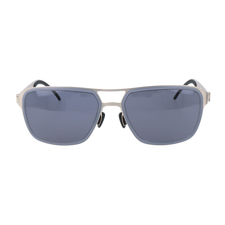 Men's M5031 Sunglasses // Gray + Silver