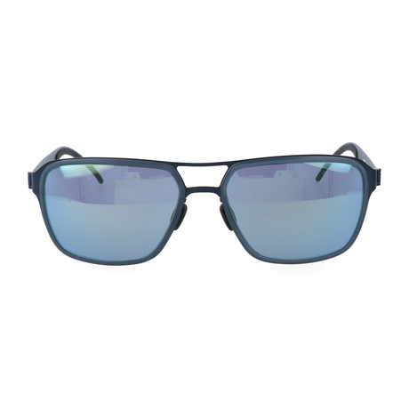 Men's Nika Sunglasses // Blue + Navy