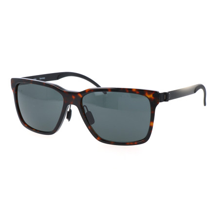 Men's M3020 Sunglasses // Dark Havana + Black