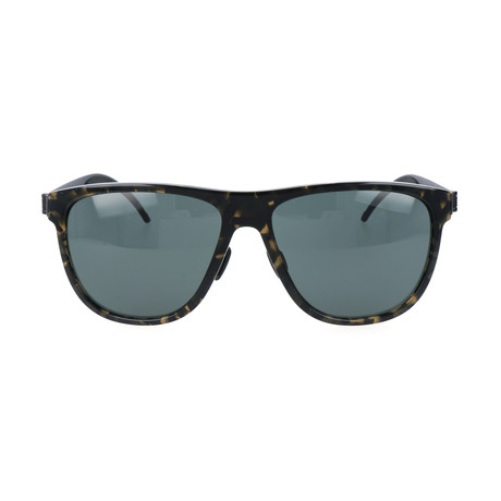 Men's M7006 Sunglasses // Havana + Black