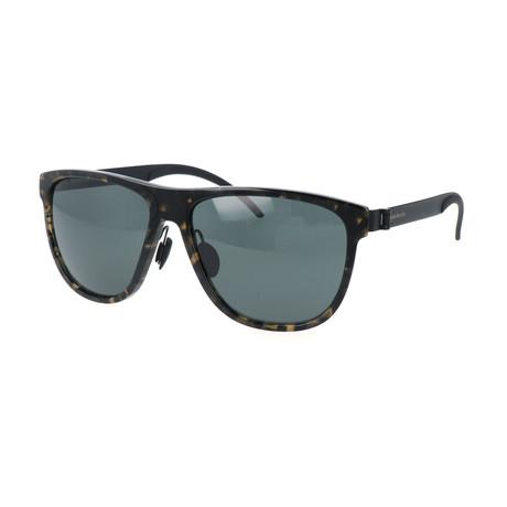 Men's M7006 Sunglasses // Havana + Black