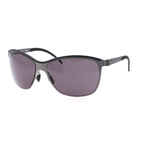 Men's Constance Sunglasses // Black + Silver