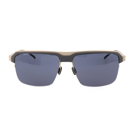 Schneider Sunglasses // Gray + Gold