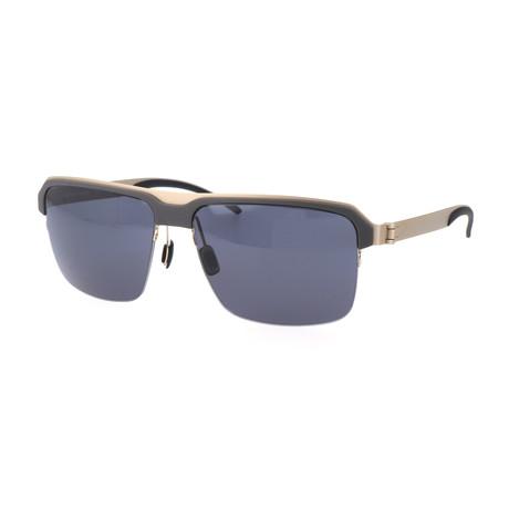 Men's M1049 Sunglasses // Gray + Silver