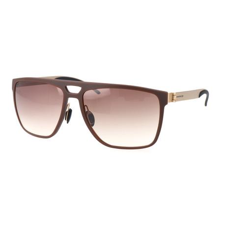 Men's M7008 Sunglasses // Brown