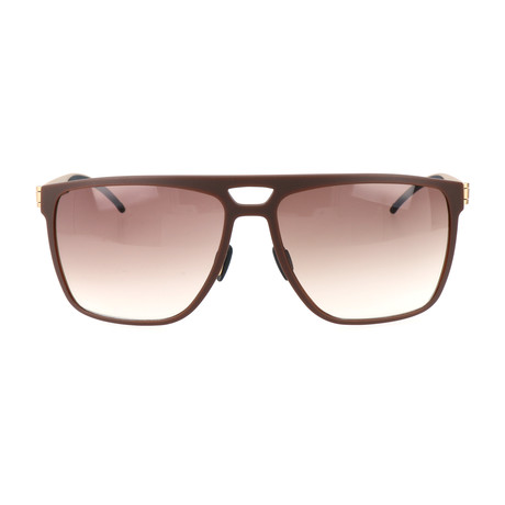 Men's M7008 Sunglasses // Brown