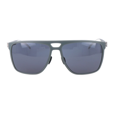 Morrow Sunglasses // Gray + Silver