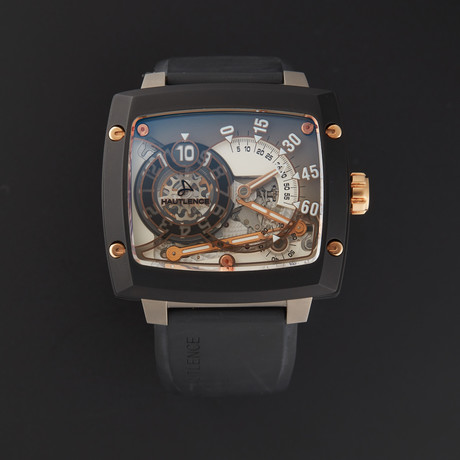 Hautlence Atelier Jump Hour Retrograde Manual Wind // HLRS 01 // Store Display
