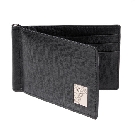 Slim Bi-Fold Wallet // Black