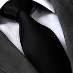 Gallus Silk Tie // Black