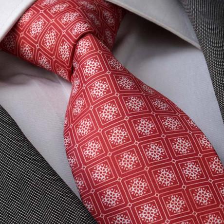 Olivarius Tie // Red + White
