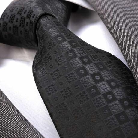 Lucci Tie // Black Squares