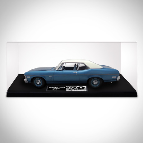 Beverly Hills Cop // 1970 Chevy Nova 1:18 // Die-Cast Car // Premium Display