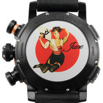 Romain Jerome Pinup DNA Red Gold WWII Chronograph Automatic // RJ.P.CH.003.01-JUNE-FAN
