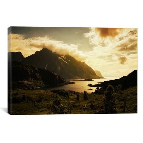 "Lofoten, Norway VIII // Andreas Stridsberg (26""W x 18""H x 0.75""D)"