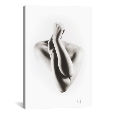 Nude Woman Charcoal Study 55
