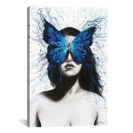 """Butterfly Mind // Ashvin Harrison (12""""W x 18""""H x 0.75""""D)"""