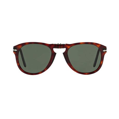 714 Polarized Iconic Folding Sunglasses // Havana