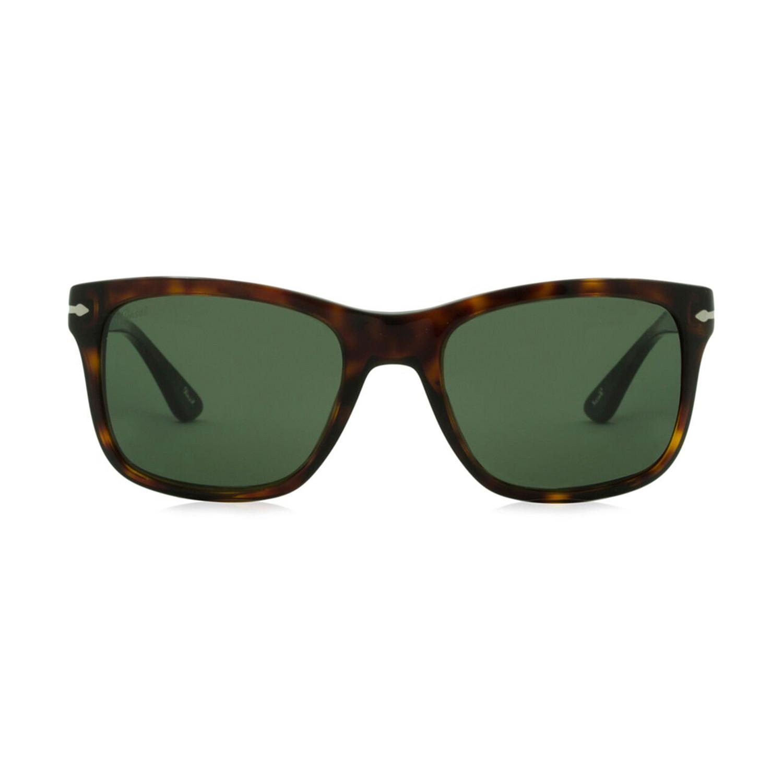 57570f649f 2bee4b68b5c9e99a3370ee1504332f8b medium. Persol Iconic Thick Framed  Sunglasses    Havana