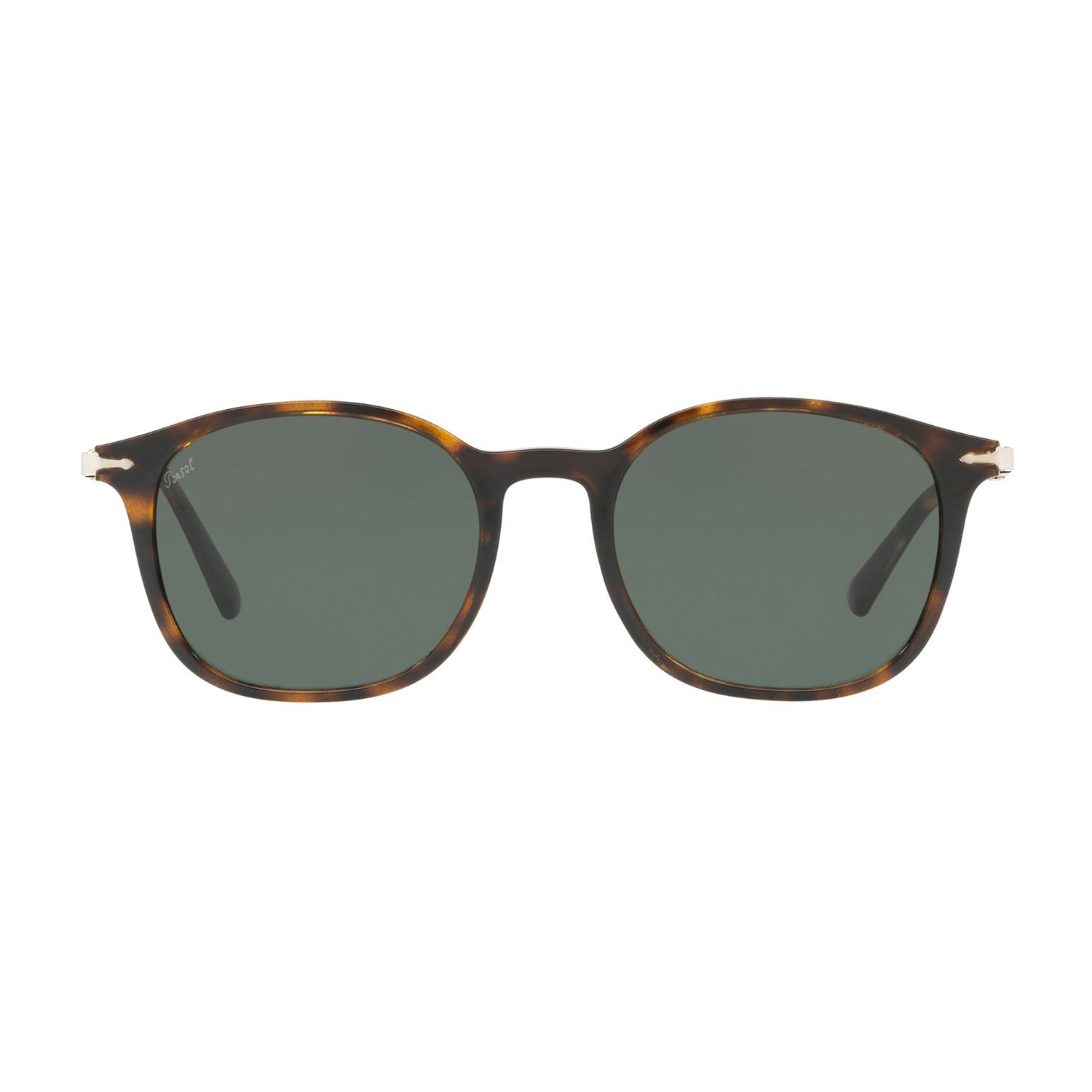 b460fbb4b0c Persol Polarized Classic Rectangular Sunglasses    Black - Persol ...