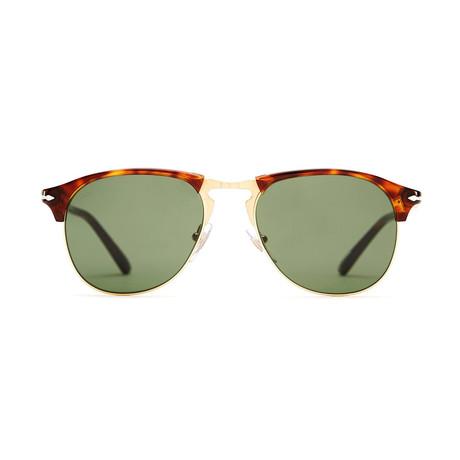 Persol Pilot Sunglasses // Havana