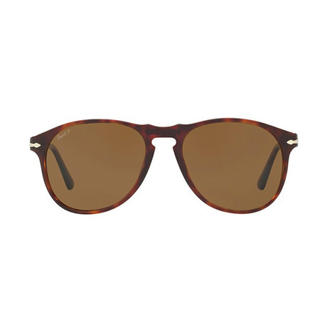 Iconic Polarized Sunglasses // Havana + Brown Polarized (52mm)