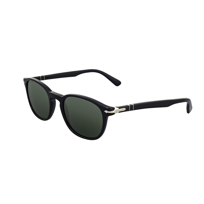 Persol Classic Rectangular Sunglasses // Black