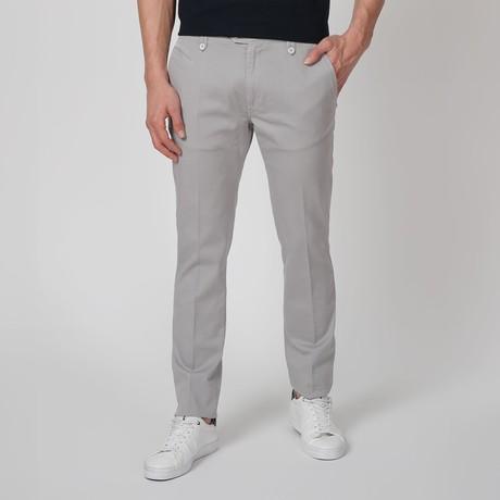 Stretch Pants // Gray (46WX34L)