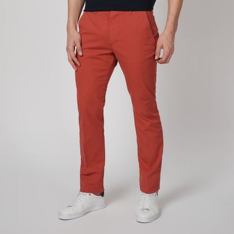 Stretch Pants // Coral (44WX34L)