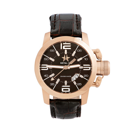 Metal.CH Chronometrie Rose Gold Quartz // 1340_47