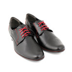 Malacki Shoes // Black + Red (Euro: 40)