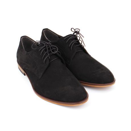Remy Shoes // Black Nubuc