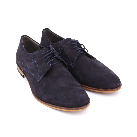 Remy Shoes // Navy Nubuc