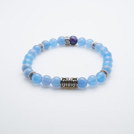 Agate + Sodalite Bracelet