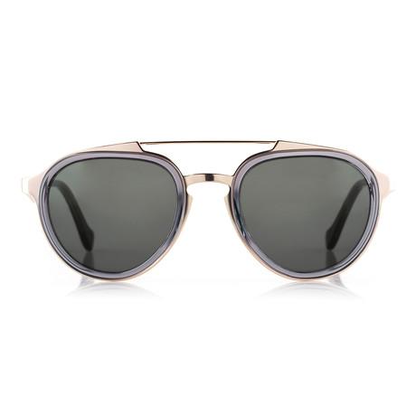 Argos Sunglasses // Gold + Gray
