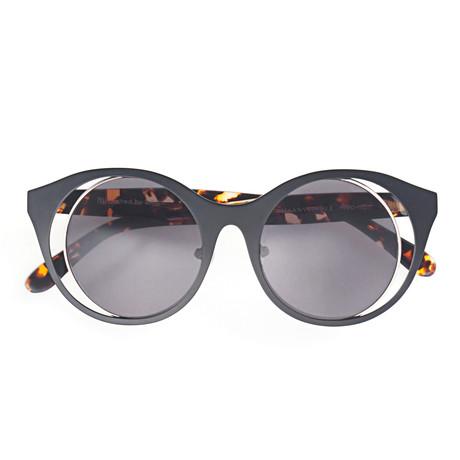 Maanvlinder Sunglasses // Black + Gold