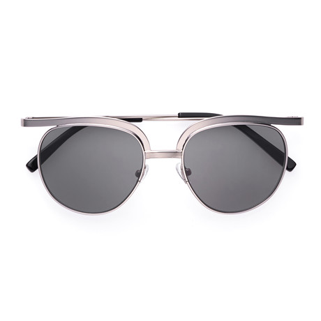 Plotter Sunglasses // Black + Silver