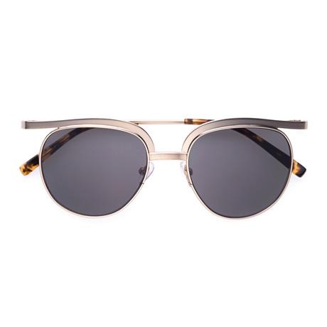 Plotter Sunglasses // Gold + Brown