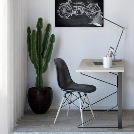 Carnegie Desk (White)