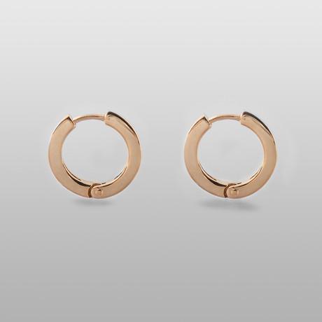 Safe Sky Earrings // 10K Gold